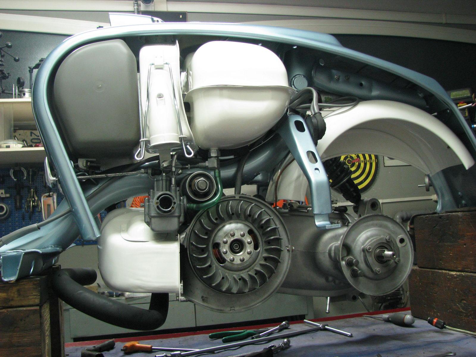 Schema Elettrico Lambretta J50 : Lambretta special